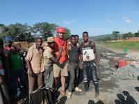 Local miners in Geita, Tanzania